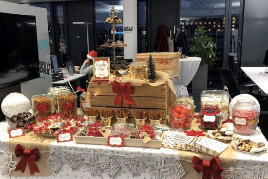 Candybar Stuttgart Weihnachtsfeier
